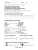 Reflexive Verbs in Spanish Practice Worksheets