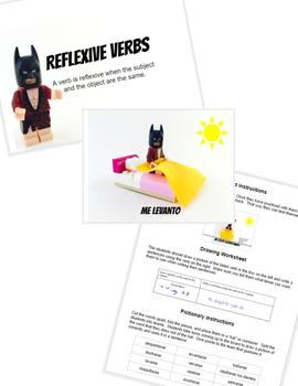 Reflexive Verbs in Spanish with Lego Batman!