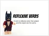 Reflexive Verbs in Spanish with Lego Batman!