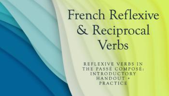 Reflexive Verbs in the Passé Composé : Introductory handou