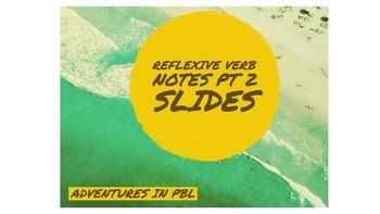 Reflexive Verbs pt 2