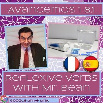 Reflexive Verbs with Mr. Bean (Avancemos 1 8.1)