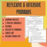 Reflexive and Intensive Pronouns Grammar