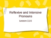 Reflexive and Intensive Pronouns Interactive Powerpoint Lesson