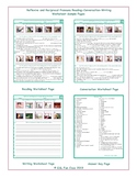 Reflexive and Reciprocal Pronouns Reading-Conversation-Writing Worksheets