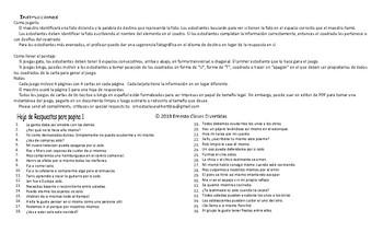 Reflexive and Reciprocal Pronouns Spanish Legal Size Photo TTT-Bingo Game