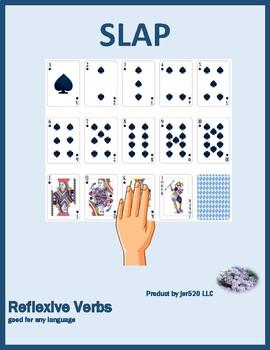 Reflexive verbs Slap game