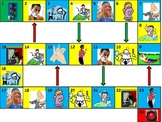 Reflexive Verbs Game Board PowerPoint
