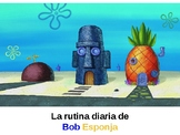 Reflexive verbs in Story form: Spongebob's daily routine