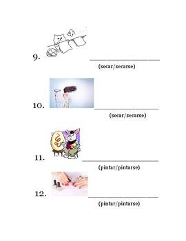 Reflexive vs. Non Reflexive