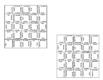 Reflexives Puzzle with Routine Vocabulary