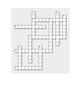 Reflexives for Daily Routines Infinitive Crossword and Wor