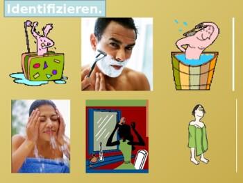 Reflexivverben (Reflexive verbs in German) Vocabulary PowerPoint