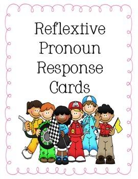 Reflextive Pronoun Response Cards