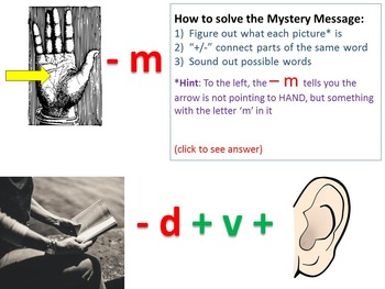 Reform Era Edition Mystery Message (Rebus) Review Game