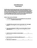Reform Movement Essay Assignment/Writing Assessment
