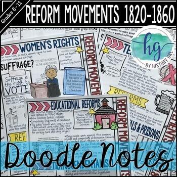 Reform Movements 1820-1860