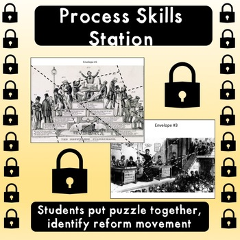 Reform Movements Escape Room (STAAR PREP)