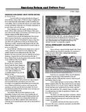 Reform Movements Newsletter