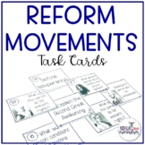Reform Movements of the 1800s Activity