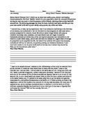 Reform Movements: Transcendentalism: Document Analysis of Walden Pond