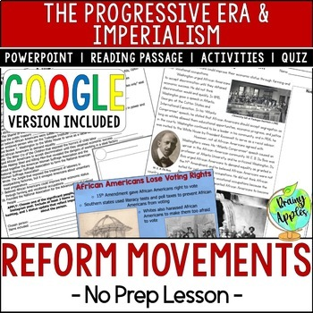 Reform Movements of the Progressive Era