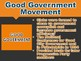 Six Movements of Progressivism PowerPoint (U.S. History)