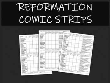 Reformation Comic Strips
