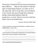 Reformation Documents—Point-of-View Lesson