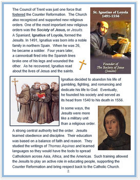 """The Counter Reformation"" + Common Core Assessments"