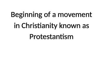 Reformation - Matching