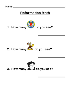 Martin Luther Reformation Math