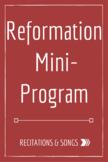 Reformation Mini-Program