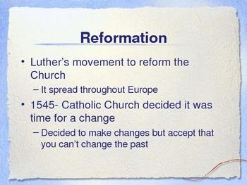 Reformation Period