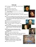 Reformation Timeline