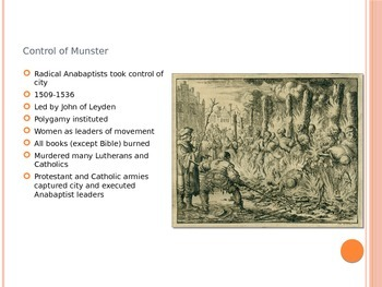 Reformation and Counter-Reformation PowerPoint