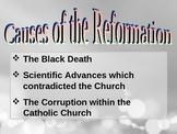 Reformation power point with guided note handouts