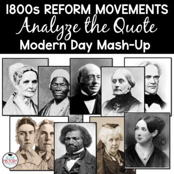 Reformer Quotes:  Modern Day Mash-Up!