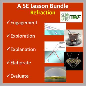 Refraction - 5E Lesson Bundle
