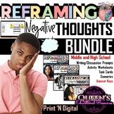 Reframing Negative Thoughts BUNDLE (Print and Digital)