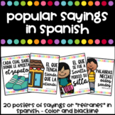 Sayings in Spanish Posters - Refranes y Dichos