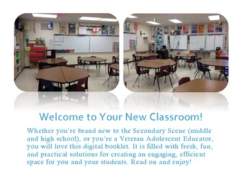 Refresh, Organize, Set Up Your Classroom! Digital Picture Tour