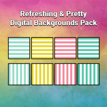 Refreshing & Pretty Digital Backgrounds Pack