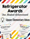 Brag Tags for Upper Elementary-- Refrigerator Award Version