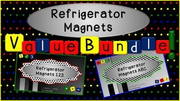 Refrigerator Magnets Value Bundle: Tools for Interactive W