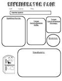 Refrigerator Page Template