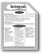 Refrigerator Shape Book