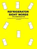 Refrigerator Sight Words Pre Kindergarten