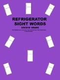 Refrigerator Sight Words Second Grade