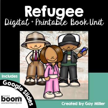 Refugee [Alan Gratz] Digital + Printable Book Unit